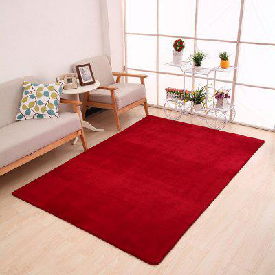 Buy BURGUNDY 80X120CM Doormat Modern Style Solid Water Proof Carpet4 for $23.04 in GearBest store