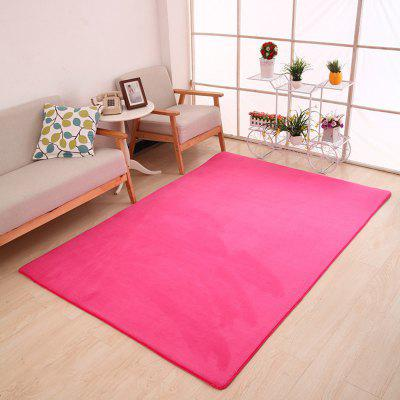 Buy ROSE RED 80X120CM Doormat Modern Style Solid Water Proof Carpet5 for $23.04 in GearBest store