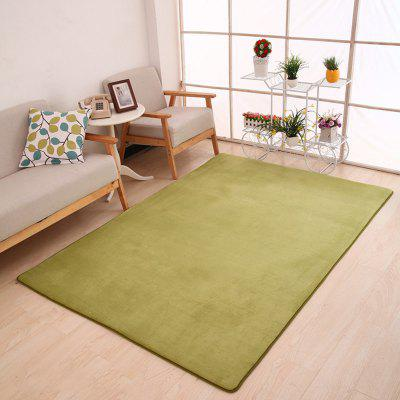 Buy GREEN 80X120CM Doormat Modern Style Solid Water Proof Carpet7 for $23.04 in GearBest store