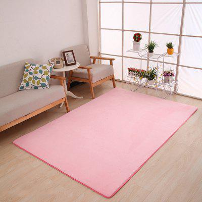 Buy PINK 80X120CM Doormat Modern Style Solid Water Proof Carpet8 for $23.04 in GearBest store