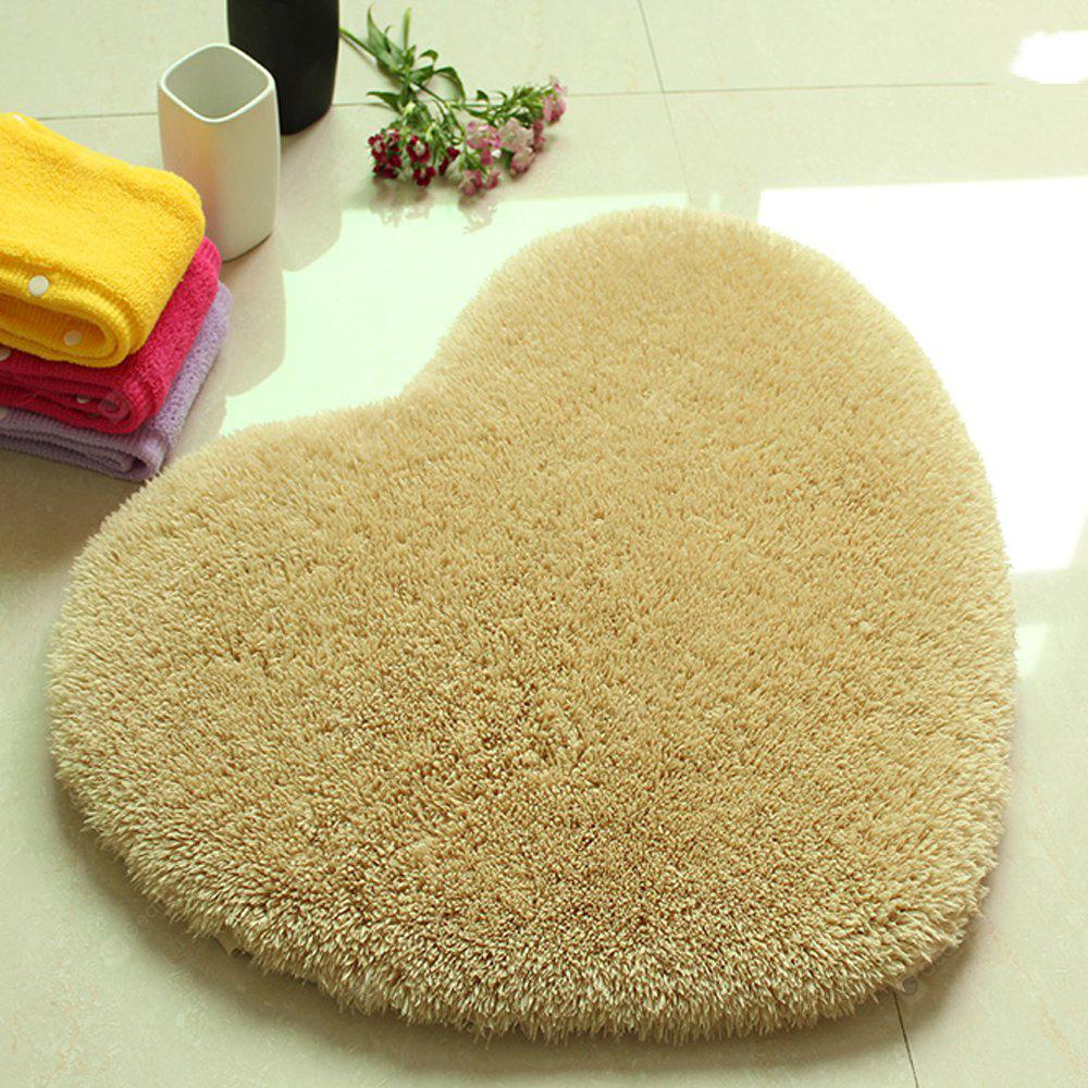 Buy door mat sweet heart shape cute home decor floor Decoration kaki