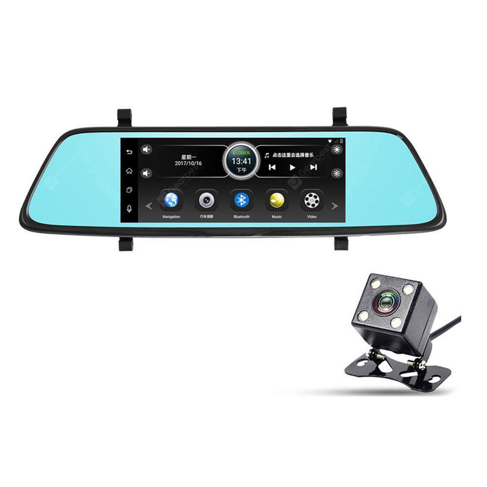 1080P Car DVR Kit - for Android OS 7-Inch GPS 1080p Front Camera Rear-View Parking Camera Parking Monitor 3G