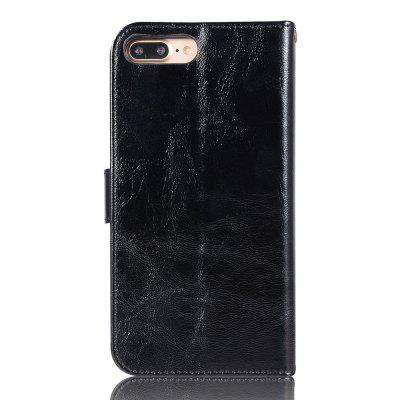 Extravagant Fashion Flip Leather Case PU Wallet Protection Cases For Iphone 8 Plus Cover Cases Phone Bag with Stand white doormoon for iphone 5c wallet genuine leather cover with stand