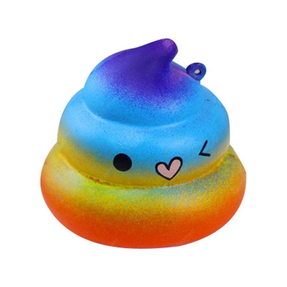 Simulation Starry Sky Dazzling Jumbo Squishy Release Toy