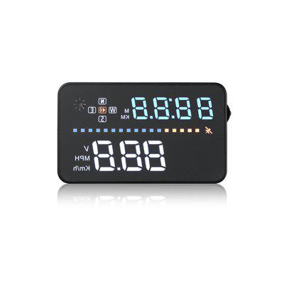 A3 Hot Selling 3.5 Inch Universal Speedometer GPS HUD Head Up Display