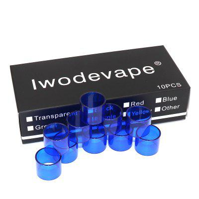 Оригинальный Iwodevape E-Cig Atomizer TFV8 Baby X-Baby 4ML Tank Glass Tube 10PCS / BOX