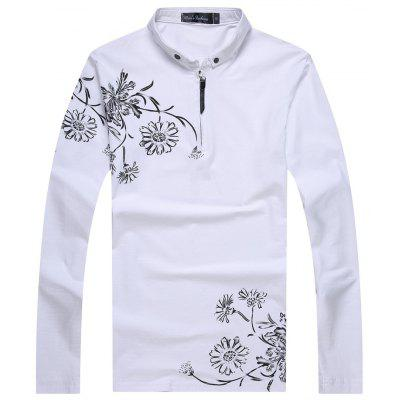 Male Printed Long Sleeved T-Shirts