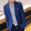 2018 New Suit Jacket For Men Terno Masculino Suit Blazers Jackets Traje Hombre Men's Casual Blazer - BLUE
