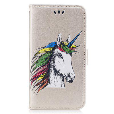 Funda Cartera Flip Funda Unicornio Bookstyle Cartera Folio Funda Cartera para iPhone 6 / 6s