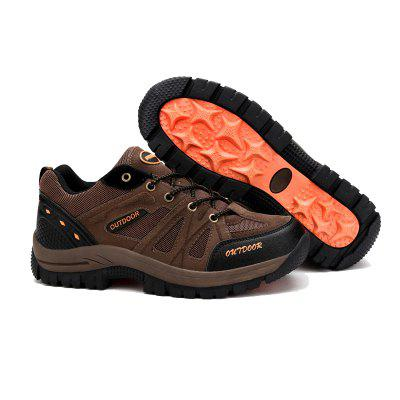 2017 Autumn Men Casual Outdoor Shoes Breathable Mesh Non-Slip Wear for Hiking