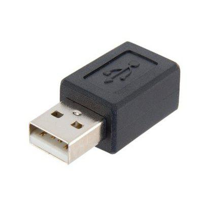 USB A Male to Micro USB Female Adapter