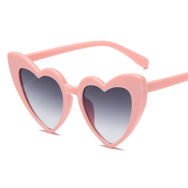Love Shape Sunglasses Colorful Glasses