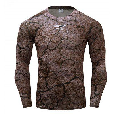 Fashion Trend Long Sleeve Camouflage T-shirt