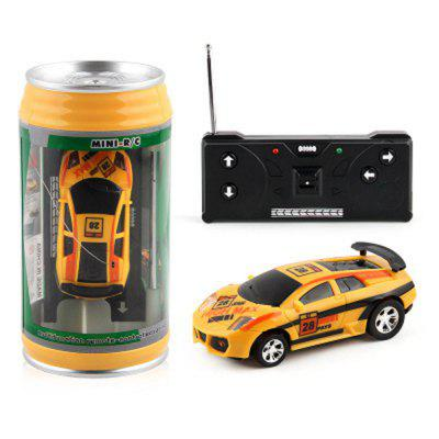 High-speed Mini Rechargeable car Lights Charging Coke Cans of  Remote Control Toys