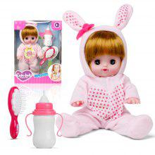 Electric Voice Bottle Dolls Laugh Cry Baby Girl Toys
