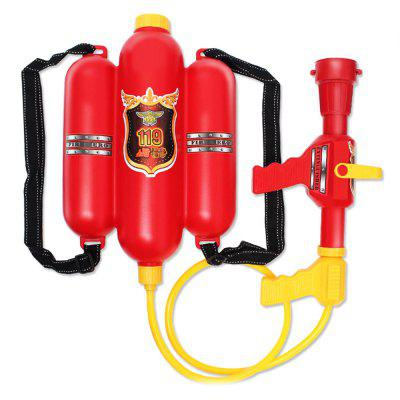 Water Fight Nozzle Backpack Fire Gun Toys