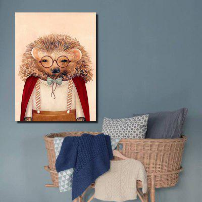 Modern Canvas Print of Cartoon Hedgehog for Home DecorationPrints<br>Modern Canvas Print of Cartoon Hedgehog for Home Decoration<br><br>Craft: Print<br>Form: One Panel<br>Material: Canvas<br>Package Contents: 1 x Print<br>Package size (L x W x H): 22.00 x 2.00 x 2.00 cm / 8.66 x 0.79 x 0.79 inches<br>Package weight: 0.0330 kg<br>Painting: Without Inner Frame<br>Product weight: 0.0250 kg<br>Shape: Vertical<br>Style: Art Deco, Contemporary, Gift, Creative, Office, Special Design, Funny, Novelty, School<br>Subjects: Cartoon<br>Suitable Space: Living Room,Bedroom,Office,Hotel,Cafes,Kids Room,Hallway,Kids Room,Study Room / Office,Boys Room,Girls Room