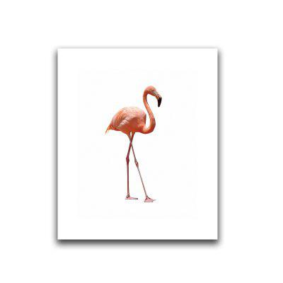 Frameless HD Canvas Art Print of Flamingo for Home Wall Decoration