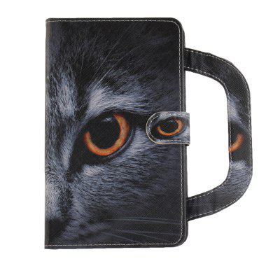 Stereoscopic Painted PU Leather Case for Samsung Galaxy Tab 4 7.0 T280