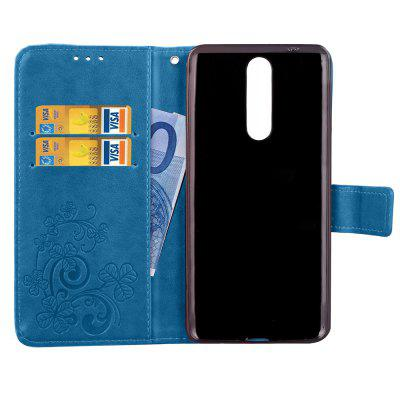 Lucky Clover Stick Drill Card Lanyard Pu Leather Cover for Nokia 8Cases &amp; Leather<br>Lucky Clover Stick Drill Card Lanyard Pu Leather Cover for Nokia 8<br><br>Color: Black,Blue,Purple,Brown,Gray,Rose Madder<br>Features: Full Body Cases, Cases with Stand, With Credit Card Holder<br>Mainly Compatible with: Nokia<br>Material: PU Leather, TPU<br>Package Contents: 1 x Case<br>Package size (L x W x H): 17.00 x 9.00 x 2.00 cm / 6.69 x 3.54 x 0.79 inches<br>Package weight: 0.0800 kg<br>Product Size(L x W x H): 16.10 x 8.30 x 1.50 cm / 6.34 x 3.27 x 0.59 inches<br>Product weight: 0.0730 kg<br>Style: Vintage/Nostalgic Euramerican Style, Novelty, Name Brand Style