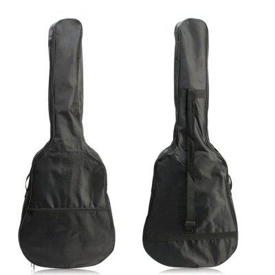 41 Inch Waterproof Nylon Acoustic Guitar Gig Bag Soft Case Cover BlackGuitar Parts<br>41 Inch Waterproof Nylon Acoustic Guitar Gig Bag Soft Case Cover Black<br><br>Materials: Nylon<br>Package Contents: 1 x Guitar Bag<br>Package size: 110.00 x 43.00 x 14.00 cm / 43.31 x 16.93 x 5.51 inches<br>Package weight: 0.3200 kg<br>Product size: 105.00 x 40.00 x 13.00 cm / 41.34 x 15.75 x 5.12 inches<br>Suitable for: Electric Guitar, Folk Guitar<br>Type: Other