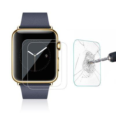 2pcs 9H Hardness 0.26mm Tempered Glass Screen Film Protector for Apple Watch 42mm