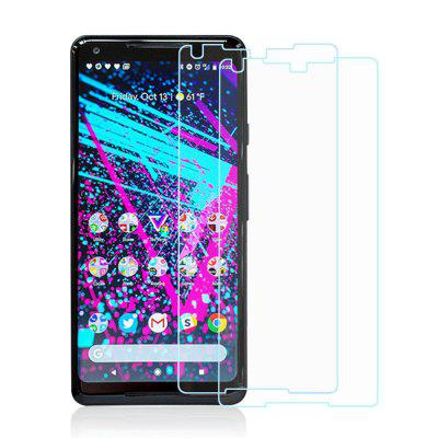 2pcs 9H Hardness 0.2mm 2.5D Tempered Glass Screen Protector for Google Pixel 2 XL