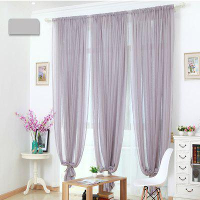 Grommet Semi-Sheer Curtains - Beautiful  Elegant  Natural Light Flow  and Durable Material White 6-32