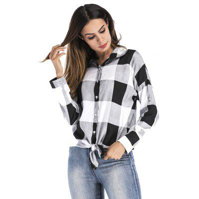 Large lattice Loose Long-Sleeved ShirtBlouses<br>Large lattice Loose Long-Sleeved Shirt<br><br>Collar: Turn-down Collar<br>Elasticity: Nonelastic<br>Fabric Type: Oxford<br>Material: Cotton, Polyester<br>Package Contents: 1XShirt<br>Pattern Type: Plaid<br>Shirt Length: Regular<br>Sleeve Length: Full<br>Style: Streetwear<br>Weight: 0.2000kg