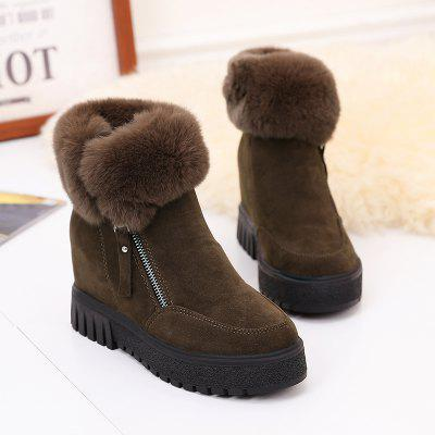 PCA19 Leisure Fashion Warm Comfortable and Pure Color with Round Head and Short BootsWomens Boots<br>PCA19 Leisure Fashion Warm Comfortable and Pure Color with Round Head and Short Boots<br><br>Boot Height: Ankle<br>Boot Type: Fashion Boots<br>Closure Type: Zip<br>Gender: For Women<br>Heel Type: Others<br>Package Contents: 1x Shoes(pair)<br>Pattern Type: Solid<br>Season: Winter<br>Toe Shape: Round Toe<br>Upper Material: PU<br>Weight: 1.2800kg
