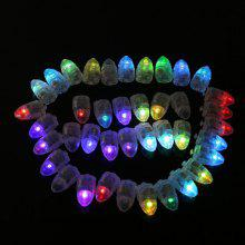 10pcs LED Glowing Light Bulbs Set Balloon Decorative Mini Lamp Bulbs