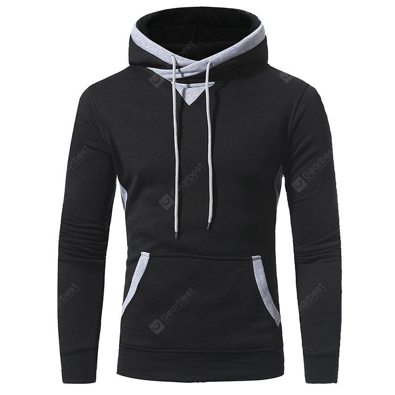 2017 Autumn and Winter New Men'S Casual Hooded Hoodie Jacket