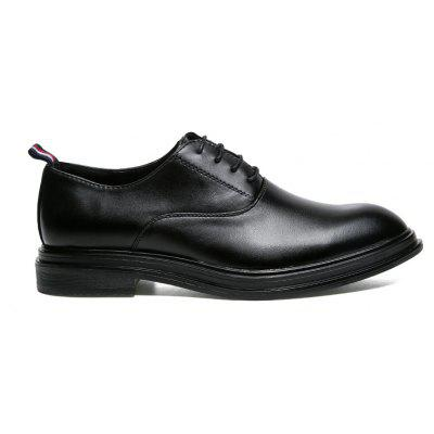 Bright Black Business Leather Shoes For ManFormal Shoes<br>Bright Black Business Leather Shoes For Man<br><br>Available Size: 39,40,41,42,43,44<br>Closure Type: Lace-Up<br>Embellishment: None<br>Gender: For Men<br>Occasion: Dress<br>Outsole Material: Rubber<br>Package Contents: 1xShoes(pair)<br>Pattern Type: Others<br>Season: Summer, Winter, Spring/Fall<br>Toe Shape: Pointed Toe<br>Toe Style: Closed Toe<br>Upper Material: PU<br>Weight: 1.6896kg
