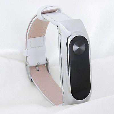 For Mi Band 2 Generation Leather Strap Bands Real Cow Wristband Xiaomi Smart Bracelet Wrist Blet Accessories