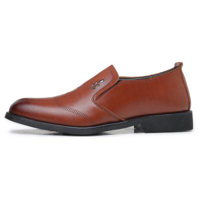 Men Casual Trend of Fashion Rubber Solid Outdoor Business Wedding Leather ShoesFormal Shoes<br>Men Casual Trend of Fashion Rubber Solid Outdoor Business Wedding Leather Shoes<br><br>Available Size: 38-44<br>Closure Type: Slip-On<br>Embellishment: None<br>Gender: For Men<br>Occasion: Casual<br>Outsole Material: Rubber<br>Package Contents: 1xShoes(pair)<br>Pattern Type: Solid<br>Season: Spring/Fall, Winter<br>Toe Shape: Round Toe<br>Toe Style: Closed Toe<br>Upper Material: Leather<br>Weight: 1.2000kg