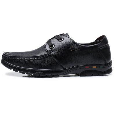 Men Casual Trend of Fashion Rubber Solid Outdoor Business Leather Wedding Flat ShoesMen's Oxford<br>Men Casual Trend of Fashion Rubber Solid Outdoor Business Leather Wedding Flat Shoes<br><br>Available Size: 38-44<br>Closure Type: Lace-Up<br>Embellishment: None<br>Gender: For Men<br>Occasion: Casual<br>Outsole Material: Rubber<br>Package Contents: 1xShoes(pair)<br>Pattern Type: Solid<br>Season: Spring/Fall, Winter<br>Toe Shape: Round Toe<br>Toe Style: Closed Toe<br>Upper Material: Leather<br>Weight: 1.2000kg