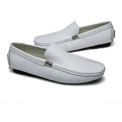 Men Loafers Driving Casual Shoes Slip on Fashion Leisure Leather Comfortable Footwear yomior men casual real leather fashion rivet driving loafers moccasins slip on men formal work shoes male dress footwear