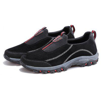 Men Outdoor Casual Hiking Winter Rubber Solid Walking Suede Low Top BootsAthletic Shoes<br>Men Outdoor Casual Hiking Winter Rubber Solid Walking Suede Low Top Boots<br><br>Available Size: 35-45<br>Closure Type: Slip-On<br>Feature: Breathable<br>Gender: For Men<br>Outsole Material: Rubber<br>Package Contents: 1?Shoes(pair)<br>Package Size(L x W x H): 30.00 x 20.00 x 10.00 cm / 11.81 x 7.87 x 3.94 inches<br>Package weight: 0.4900 kg<br>Pattern Type: Solid<br>Product weight: 0.4000 kg<br>Season: Winter<br>Upper Material: Suede