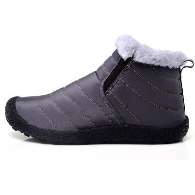 """Men Warm Outdoor Casual Trend of Fashion Winter Rubber Cotton Solid Walking Boots SportMens Boots<br>Men Warm Outdoor Casual Trend of Fashion Winter Rubber Cotton Solid Walking Boots Sport<br><br>Boot Height: Ankle<br>Boot Type: Snow Boots<br>Closure Type: Slip-On<br>Embellishment: None<br>Gender: For Men<br>Heel Hight: Flat(0-0.5"""")<br>Heel Type: Low Heel<br>Outsole Material: Rubber<br>Package Contents: 1?Shoes(pair)<br>Pattern Type: Solid<br>Season: Winter<br>Shoe Width: Medium(B/M)<br>Toe Shape: Round Toe<br>Upper Material: Nylon<br>Weight: 1.2000kg"""
