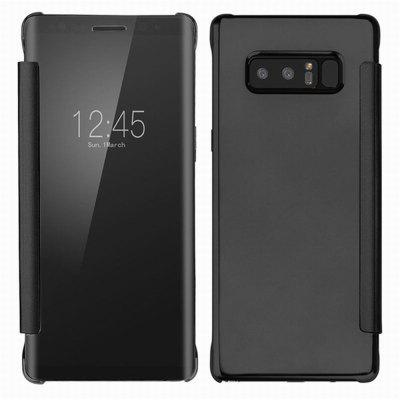 Luxe Clear View Miroir Retourner Smart Case Cover Pour Samsung Galaxy Note 8
