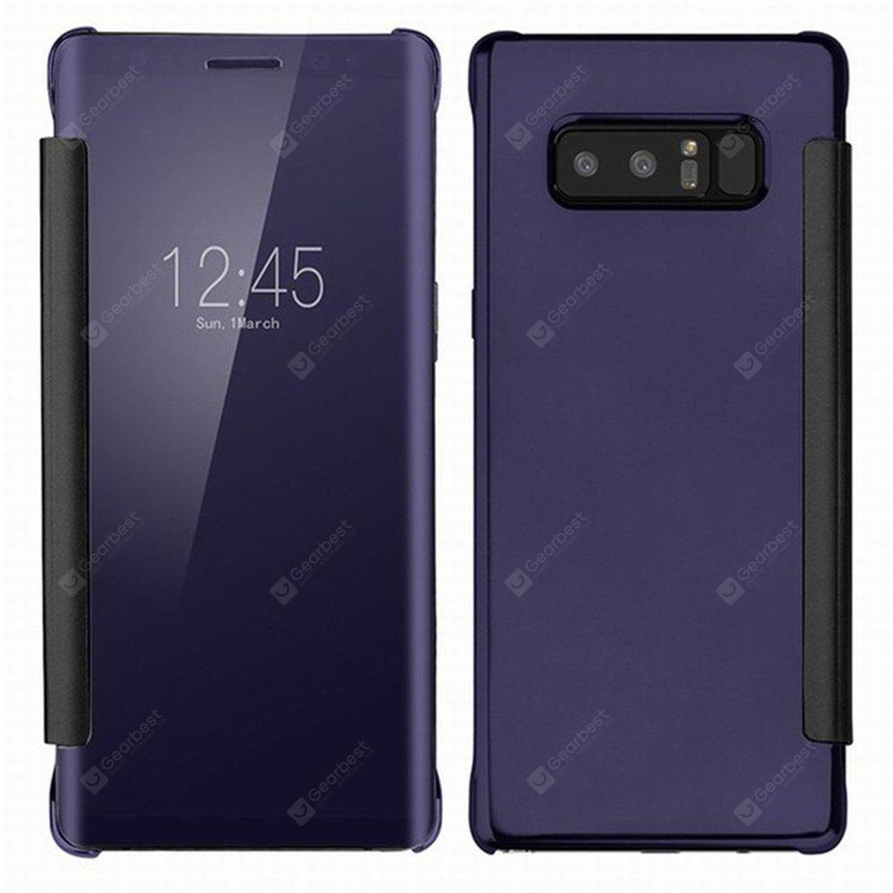 Custodia Smart di Lusso Clear View Mirror Flip per Samsung Galaxy Note 8