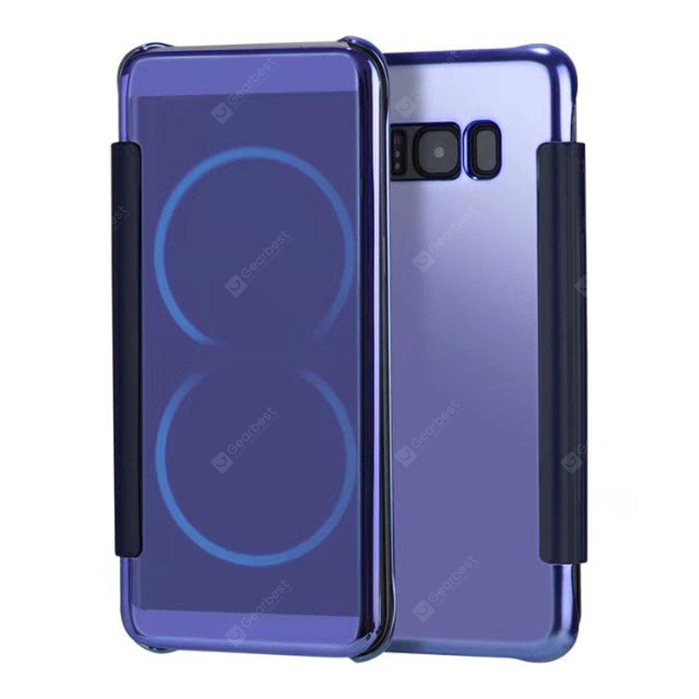Custodia rigida Smart Case di lusso Clear View Mirror per Samsung Galaxy S8 Plus