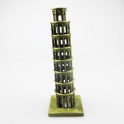 Italy Leaning Tower of Pisa Model Iron Ornaments