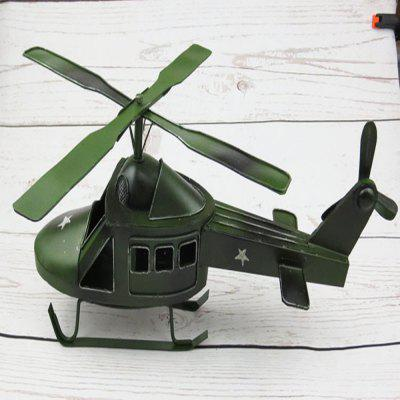 World War II American Helicopter Model Iron Ornaments s s toys бабочка 28 см