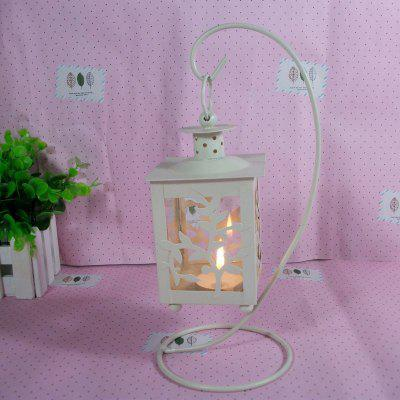 Buy WHITE European Style Lantern crafts creative Home Furnishing ornaments for $7.67 in GearBest store