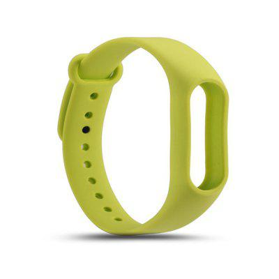 Buy GREEN For Xiaomi mi band 2 Replace Wrist Strap Belt Silicone Colorful Wristband Smart Bracelet Accessories for $1.48 in GearBest store