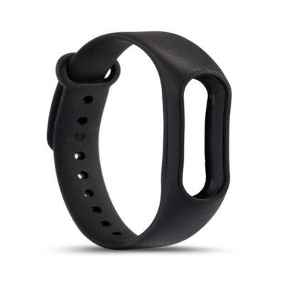 Buy BLACK For Xiaomi mi band 2 Replace Wrist Strap Belt Silicone Colorful Wristband Smart Bracelet Accessories for $1.48 in GearBest store