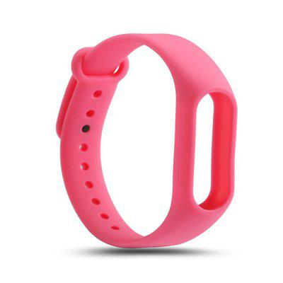 Buy PINK For Xiaomi mi band 2 Replace Wrist Strap Belt Silicone Colorful Wristband Smart Bracelet Accessories for $1.48 in GearBest store