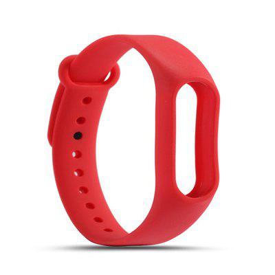 Buy RED For Xiaomi mi band 2 Replace Wrist Strap Belt Silicone Colorful Wristband Smart Bracelet Accessories for $1.48 in GearBest store