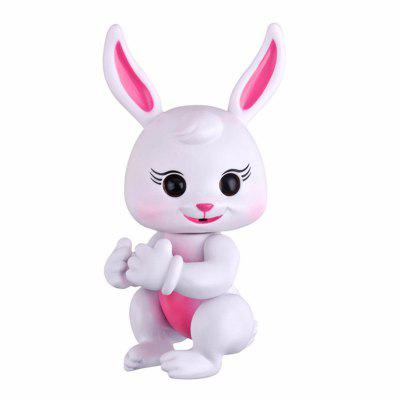 Finger Rabbit  Interactive Pet Smart Induction Electronic Toys for Kids ChildrenNovelty Toys<br>Finger Rabbit  Interactive Pet Smart Induction Electronic Toys for Kids Children<br><br>Features: Creative Toy<br>Materials: ABS, PVC<br>Package Contents: 1 x Toys, 4 x LR44 Button Battery,  1 x English User Manual<br>Package size: 17.00 x 11.00 x 6.00 cm / 6.69 x 4.33 x 2.36 inches<br>Package weight: 0.1400 kg<br>Product weight: 0.1040 kg<br>Series: Entertainment<br>Theme: Other